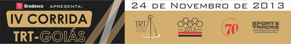 IV Corrida - TRT Goiás  2013